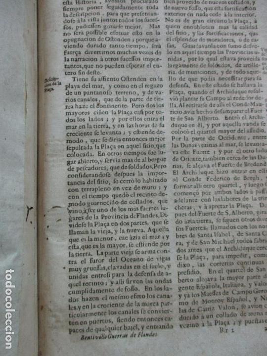 Libros antiguos: LAS GUERRAS DE FLANDES DESDE LA MUERTE DEL EMPERADOR CARLOS V..BENTIVOLLO, cardenal. 1687 - Foto 16 - 97709455
