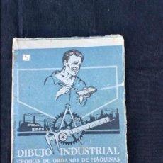 Libros antiguos: DIBUJO INDUSTRIAL. Lote 97740119