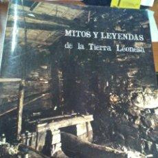 Libros antiguos: MITOS Y LEYENDAS DE LA TIERRA LEONESA. Lote 97768943