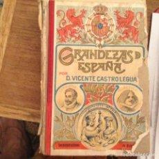 Libros antiguos: GRANDEZAS DE ESPAÑA. VICENTE CASTRO. 1.909. Lote 97826175