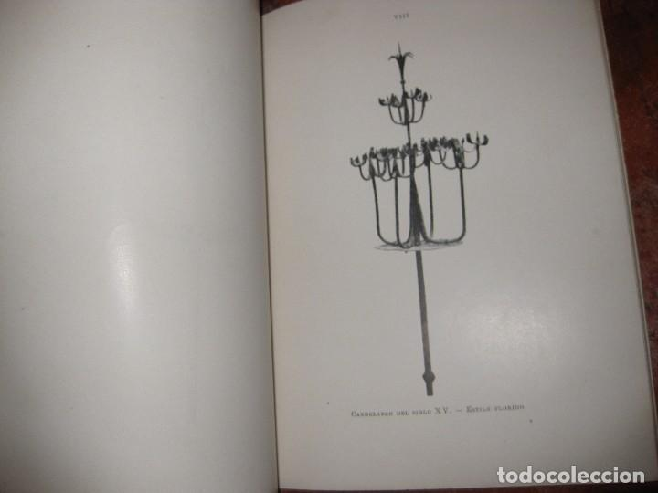Libros antiguos: libro el cau ferrat . coleccion de hierros de santiago rusiñol . A garcia llanso sitges - Foto 4 - 97849035