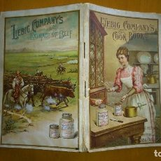 Libros antiguos: LIEBIG COMPANY'S COOK BOOK . MARIA PARLOA 1893. CIEN RECETAS CON EL CONCENTRADO DE CARNE LIEBIG. Lote 97915879