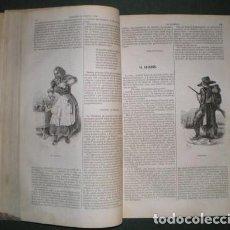 Libros antiguos: LOS ESPAÑOLES PINTADOS POR SÍ MISMOS - GASPAR Y ROIG EDITORES - AÑO 1851. 100 GRABADOS. Lote 97930751