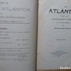 Libros antiguos: LA ATLANTIDA DE J.VERDAGUER .EDICION BILINGUE CATALAN -CASTELLANO-1905 - 9 EDICION. Lote 98015595