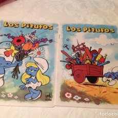 Libros antiguos: CUADERNILLO PITUFOS . Lote 98021611