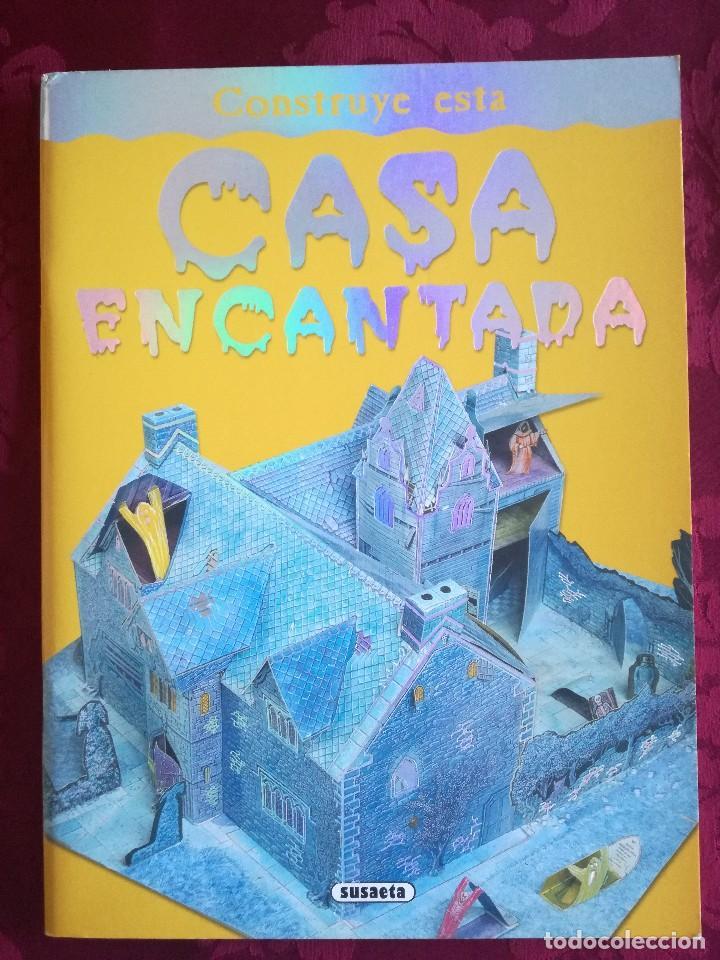 LIBRO RECORTABLE CASA ENCANTADA (Libros Antiguos, Raros y Curiosos - Literatura Infantil y Juvenil - Otros)