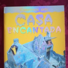 Libros antiguos: LIBRO RECORTABLE CASA ENCANTADA. Lote 98048399