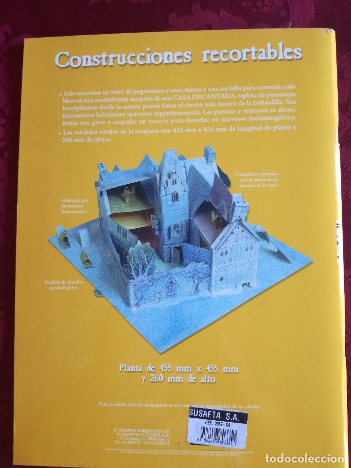 Libros antiguos: LIBRO RECORTABLE CASA ENCANTADA - Foto 2 - 98048399