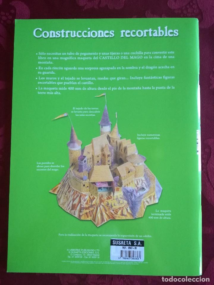 Libros antiguos: LIBRO RECORTABLE CASTILLO MEDIEVAL - Foto 2 - 98048447