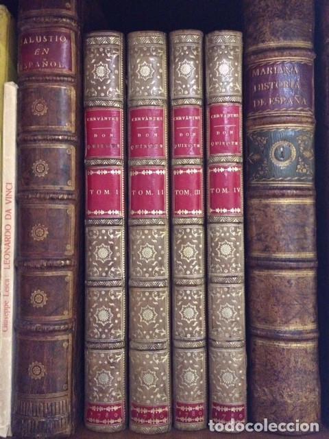 EL QUIJOTE DE JOAQUIN IBARRA 1780 (Libros Antiguos, Raros y Curiosos - Bellas artes, ocio y coleccionismo - Otros)