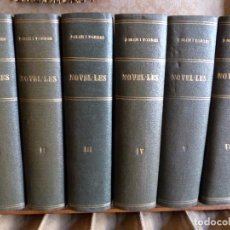 Libros antiguos: 38 NOVELAS DE JOSEP Mª FOLCH I TORRES EN 6 TOMOS. Lote 98063863