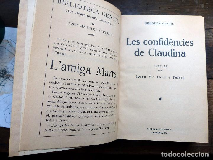 Libros antiguos: 38 Novelas de Josep Mª Folch i Torres en 6 tomos - Foto 3 - 98063863