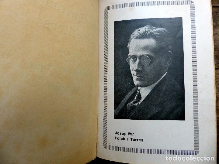 Libros antiguos: 38 Novelas de Josep Mª Folch i Torres en 6 tomos - Foto 6 - 98063863