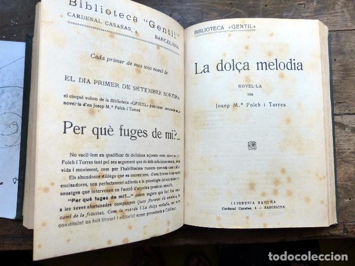 Libros antiguos: 38 Novelas de Josep Mª Folch i Torres en 6 tomos - Foto 8 - 98063863