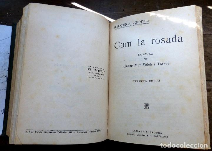 Libros antiguos: 38 Novelas de Josep Mª Folch i Torres en 6 tomos - Foto 9 - 98063863