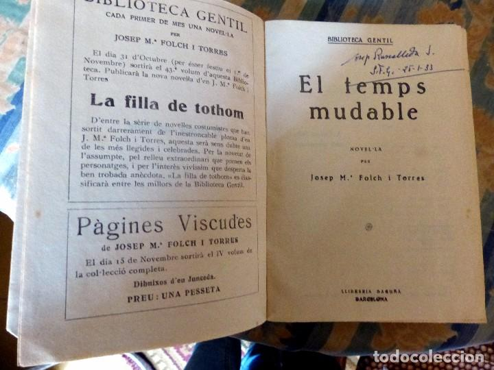 Libros antiguos: 38 Novelas de Josep Mª Folch i Torres en 6 tomos - Foto 12 - 98063863