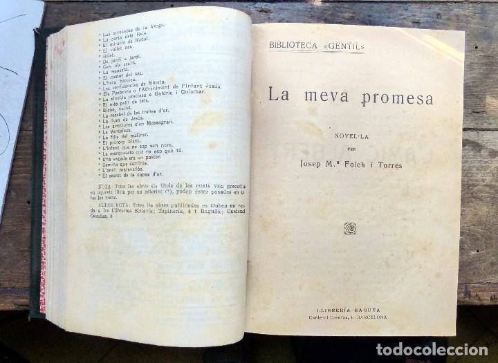 Libros antiguos: 38 Novelas de Josep Mª Folch i Torres en 6 tomos - Foto 13 - 98063863