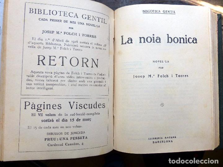 Libros antiguos: 38 Novelas de Josep Mª Folch i Torres en 6 tomos - Foto 15 - 98063863