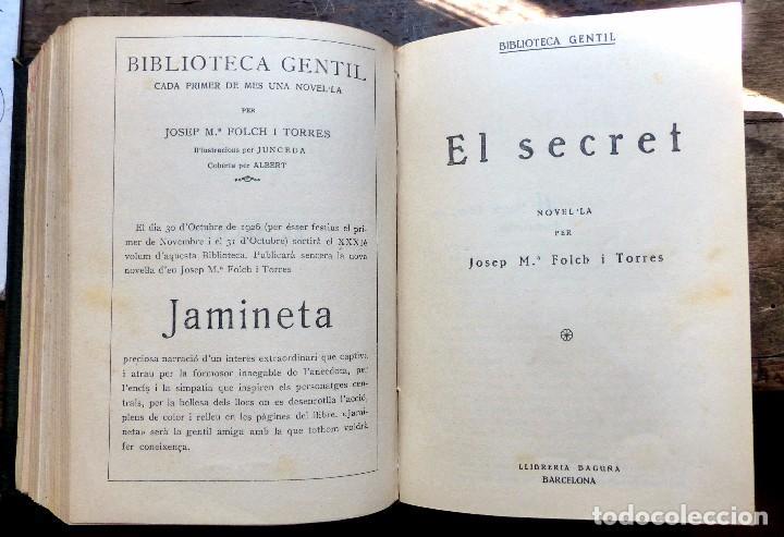 Libros antiguos: 38 Novelas de Josep Mª Folch i Torres en 6 tomos - Foto 17 - 98063863