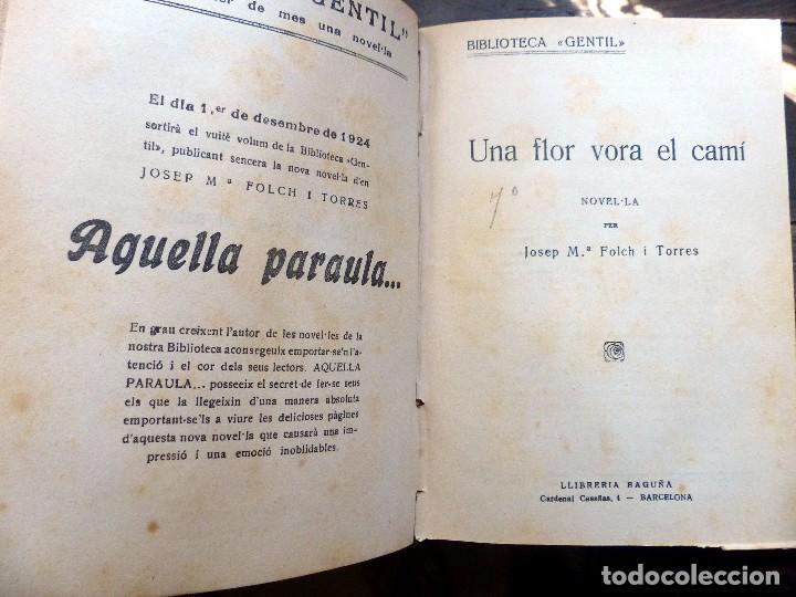 Libros antiguos: 38 Novelas de Josep Mª Folch i Torres en 6 tomos - Foto 20 - 98063863
