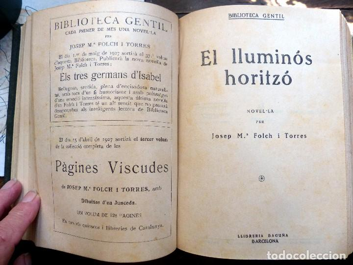 Libros antiguos: 38 Novelas de Josep Mª Folch i Torres en 6 tomos - Foto 21 - 98063863