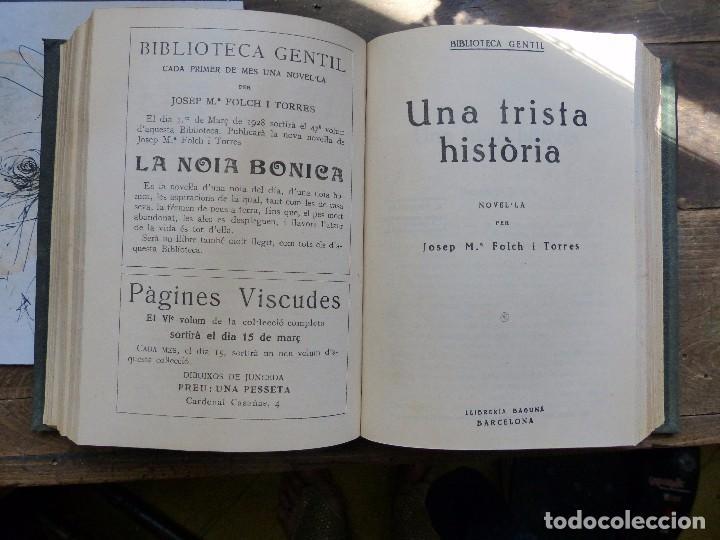 Libros antiguos: 38 Novelas de Josep Mª Folch i Torres en 6 tomos - Foto 22 - 98063863