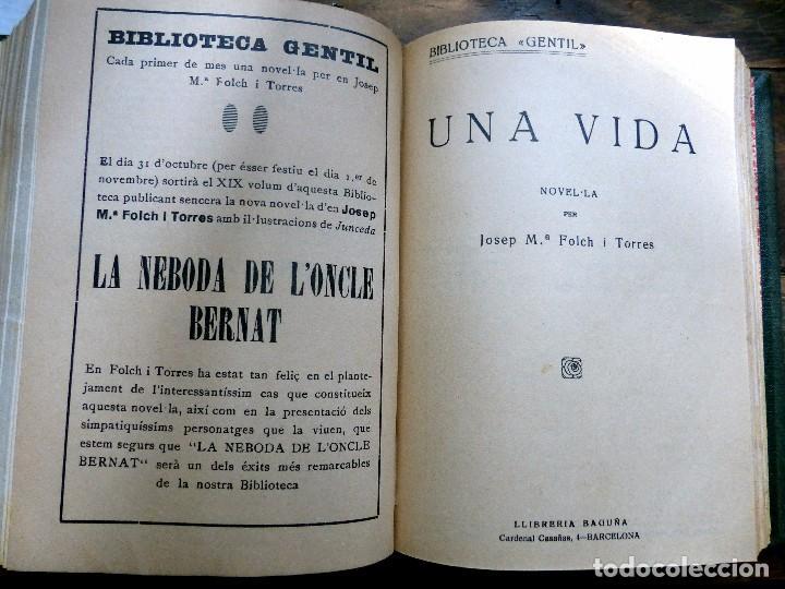 Libros antiguos: 38 Novelas de Josep Mª Folch i Torres en 6 tomos - Foto 23 - 98063863