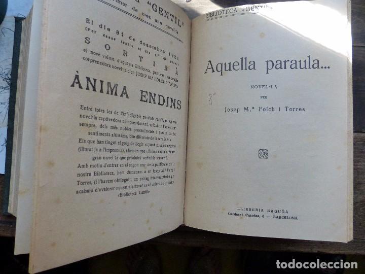 Libros antiguos: 38 Novelas de Josep Mª Folch i Torres en 6 tomos - Foto 25 - 98063863