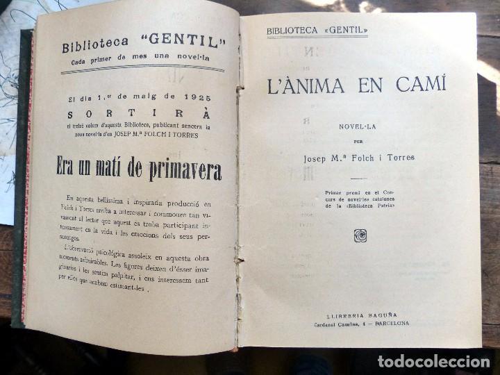 Libros antiguos: 38 Novelas de Josep Mª Folch i Torres en 6 tomos - Foto 28 - 98063863
