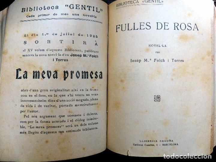 Libros antiguos: 38 Novelas de Josep Mª Folch i Torres en 6 tomos - Foto 30 - 98063863