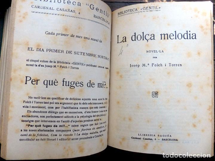 Libros antiguos: 38 Novelas de Josep Mª Folch i Torres en 6 tomos - Foto 32 - 98063863