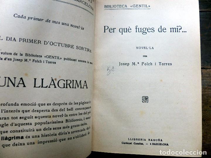 Libros antiguos: 38 Novelas de Josep Mª Folch i Torres en 6 tomos - Foto 35 - 98063863