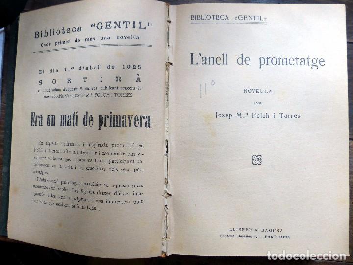 Libros antiguos: 38 Novelas de Josep Mª Folch i Torres en 6 tomos - Foto 36 - 98063863