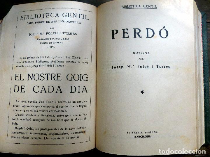 Libros antiguos: 38 Novelas de Josep Mª Folch i Torres en 6 tomos - Foto 38 - 98063863