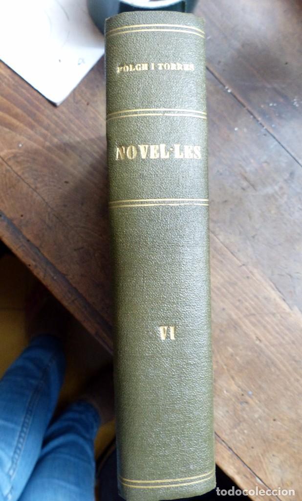 Libros antiguos: 38 Novelas de Josep Mª Folch i Torres en 6 tomos - Foto 42 - 98063863