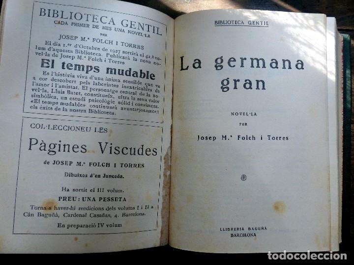 Libros antiguos: 38 Novelas de Josep Mª Folch i Torres en 6 tomos - Foto 45 - 98063863