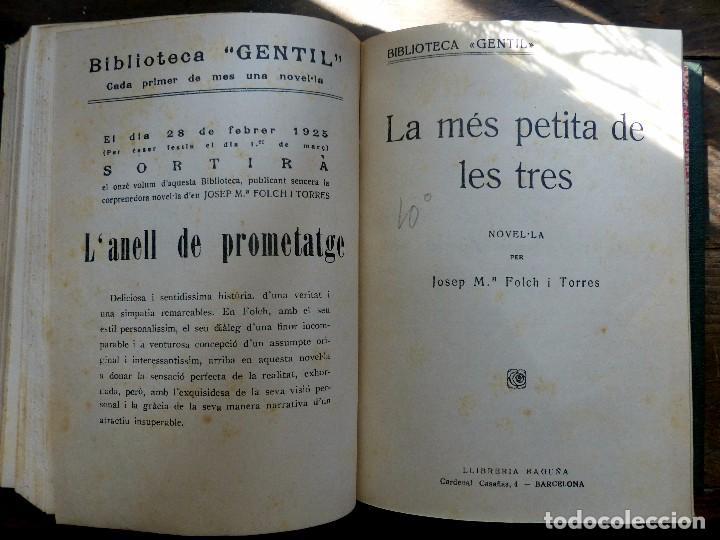 Libros antiguos: 38 Novelas de Josep Mª Folch i Torres en 6 tomos - Foto 46 - 98063863