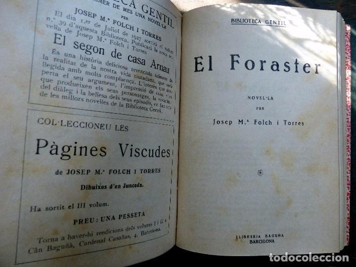Libros antiguos: 38 Novelas de Josep Mª Folch i Torres en 6 tomos - Foto 47 - 98063863