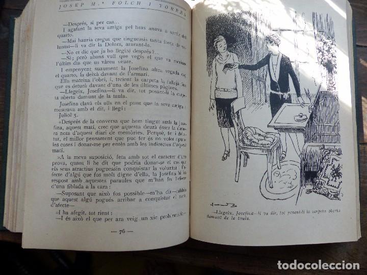 Libros antiguos: 38 Novelas de Josep Mª Folch i Torres en 6 tomos - Foto 49 - 98063863