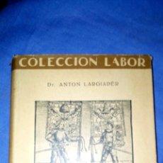Libros antiguos: HISTORIA DE SUIZA , ED. LABOR. Lote 98074626
