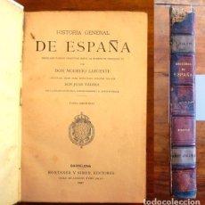 Libros antiguos: LAFUENTE, MODESTO. HISTORIA GENERAL DE ESPAÑA : DESDE LOS TIEMPOS PRIMITIVOS... TOMO 2. Lote 98117203