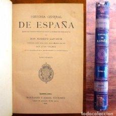 Libros antiguos: LAFUENTE, MODESTO. HISTORIA GENERAL DE ESPAÑA : DESDE LOS TIEMPOS PRIMITIVOS... TOMO 4. Lote 98117267