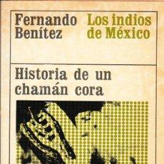 Livres anciens: HISTORIA DE UN CHAMÁN CORA. Lote 98134883