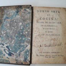Libros antiguos: NUEVO ARTE DE COCINA SACADO DE LA ESCUELA - JUAN ALTAMIRAS - IMPRENTA THOMAS PIFERRER - BARCELONA. Lote 98185026