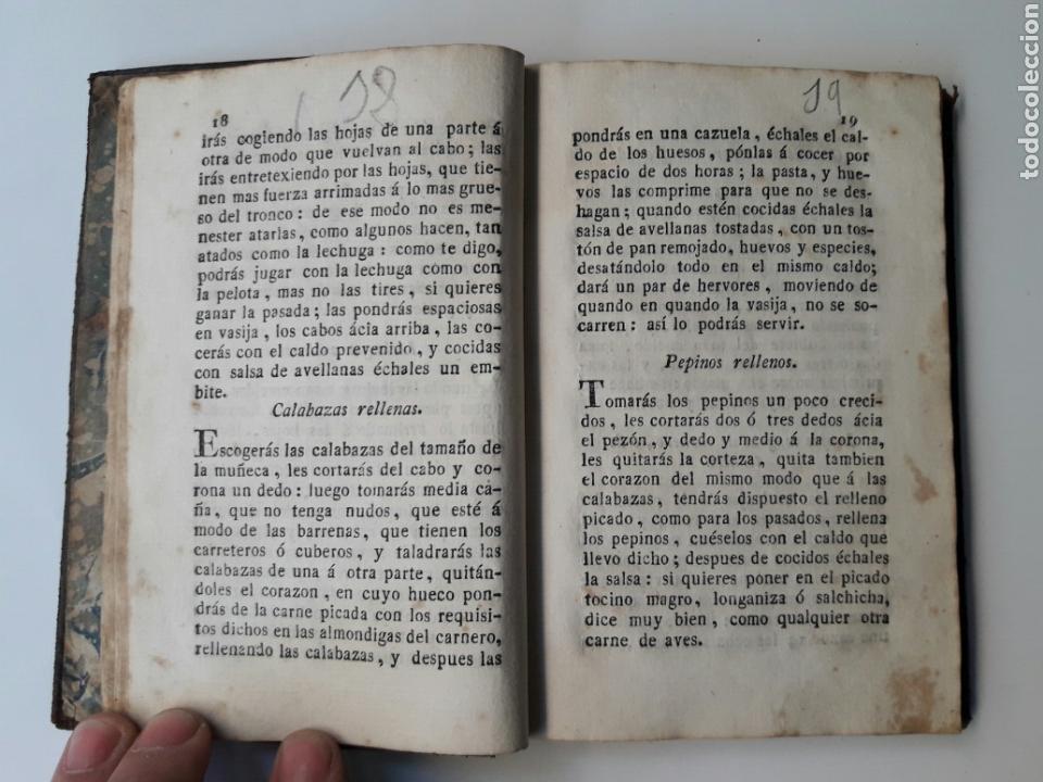 Libros antiguos: NUEVO ARTE DE COCINA SACADO DE LA ESCUELA - JUAN ALTAMIRAS - IMPRENTA THOMAS PIFERRER - BARCELONA - Foto 4 - 98185026