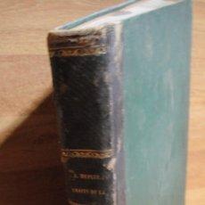Libros antiguos: TRATADO DE LA CONDUCCION Y DISTRIBUCION DEL AGUA - AÑO 1865. Lote 98234227