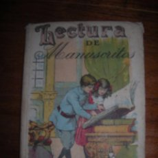 Libros antiguos: LECTURA DE MANUSCRITOS. SATURNINO CALLEJA.. Lote 98396507
