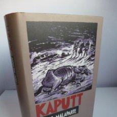 Libros antiguos: KAPUTT. CURZIO MALAPARTE. CÍRCULO DE LECTORES. Lote 98406923
