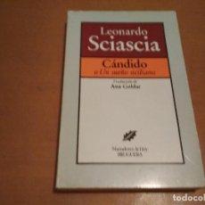 Libros antiguos: CÁNDIDO O UN SUEÑO SICILIANO. Lote 206947595