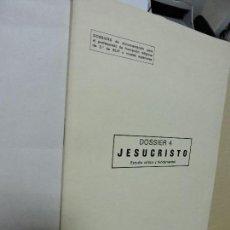 Libros antiguos: DOSSIER 4. JESUCRISTO. ESTUDIO CRÍTICO Y FUNDAMENTAL. BLAZQUEZ, RICARDO. MADRID 1979. Lote 98419811
